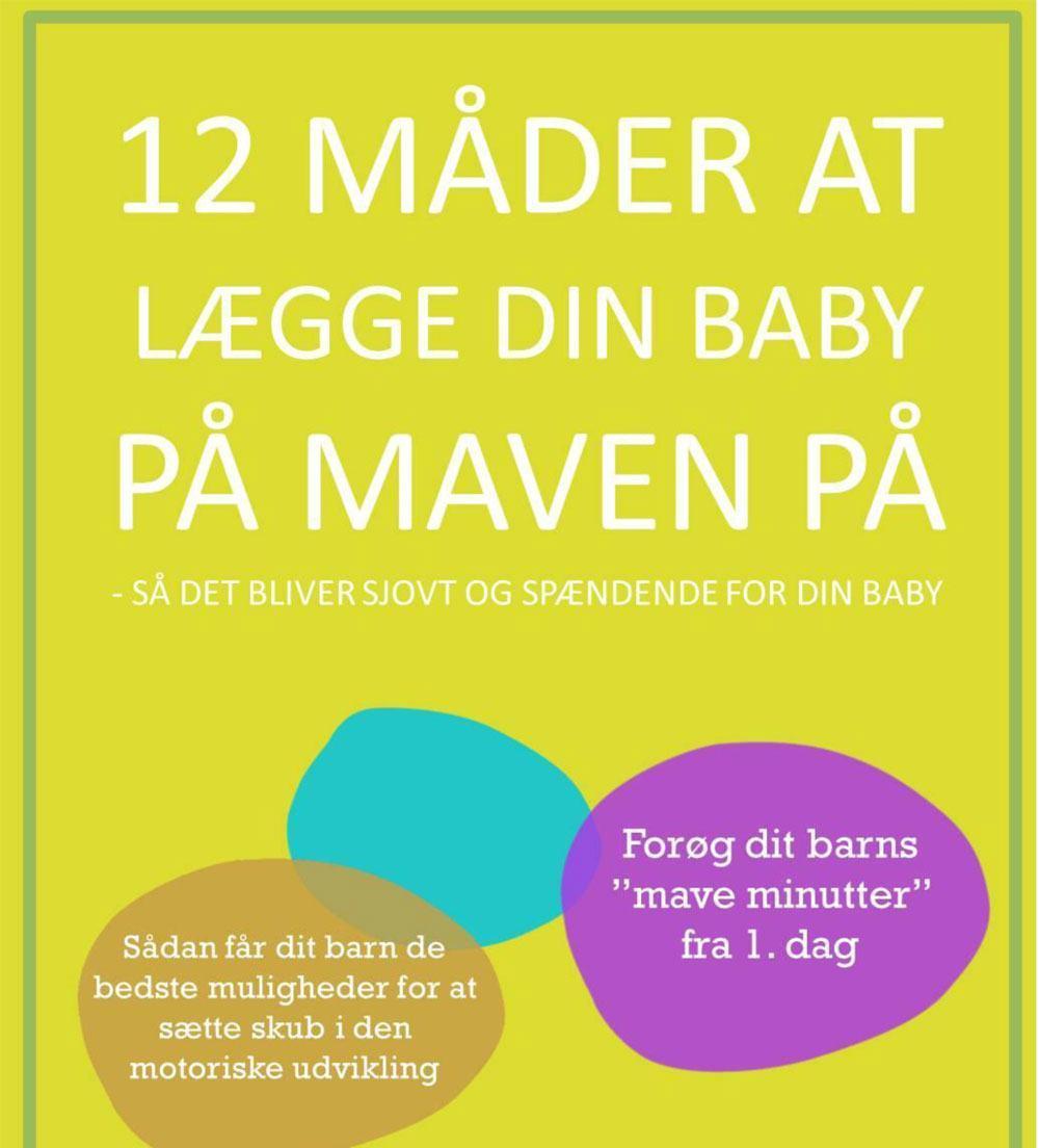 e-bog: 12 måder at lægge din baby på maven på