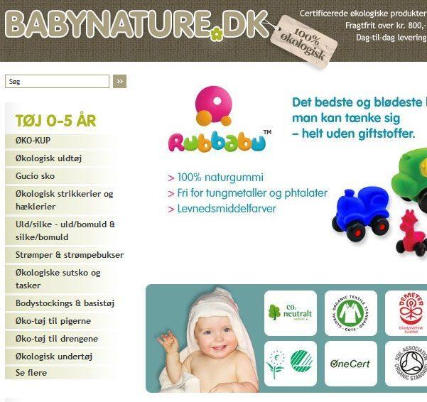 Handl ind til baby på nettet – babynature.dk