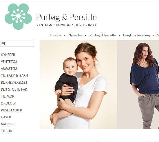 579402cff Tøj til graviditet og amning - Purløg & Persille - FØROGEFTER