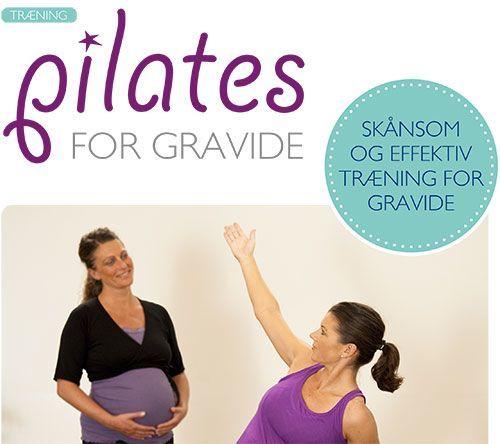 Om Pilates for gravide