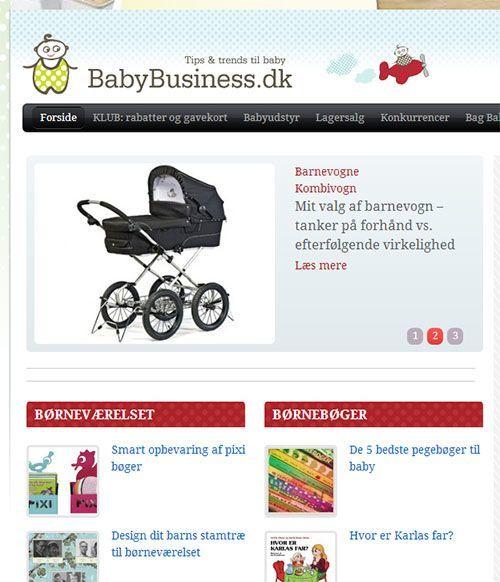 babybusiness og babyforbegyndere