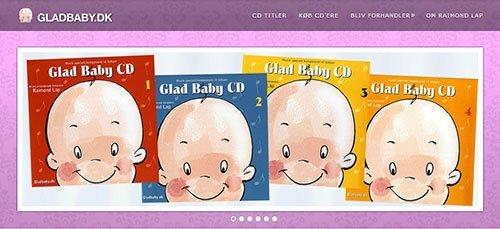 Glad Baby musik