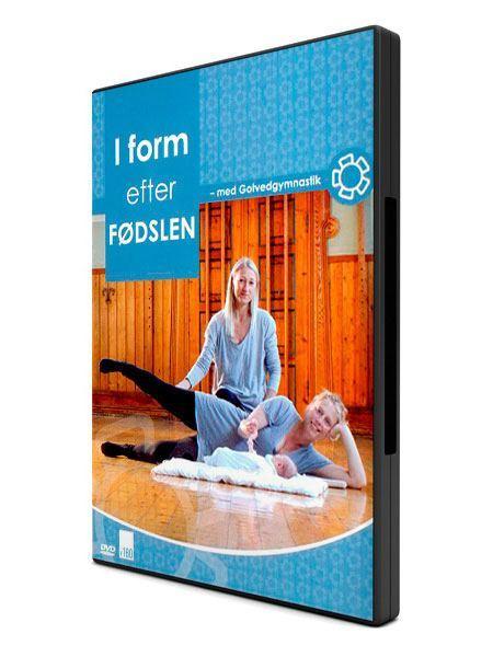 Hjemmetræning efter fødsel på dvd