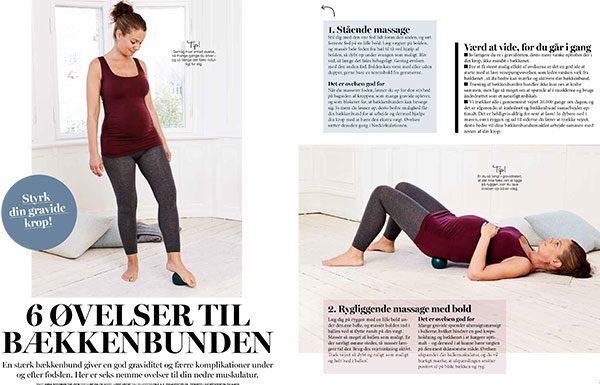 6 øvelser til bækkenbunden for gravide (og efter)