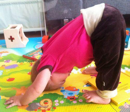 I form efter fødslen med Yoga