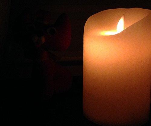 Stearinlys uden forurening