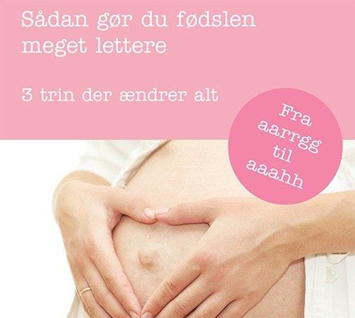 Sådan gør du fødslen lettere