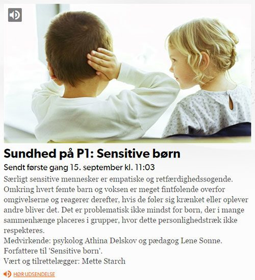 P1 program om sensitive børn