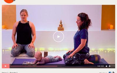 Gratis ONLINE Yoga for gravide, efterfødsel og med baby
