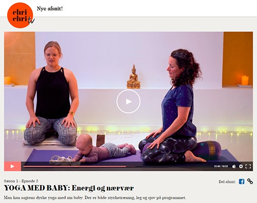 Gratis ONLINE Yoga for gravide, efterfødsel og med baby